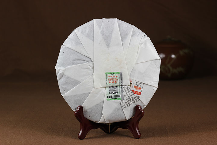 2015年老同志9978熟茶357克/饼